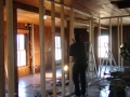 Framing Master Bath.