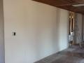 Kitchen wall up.