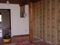 Kitchen wall insulation.