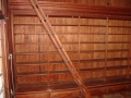 Original rolling ladders and shelving.